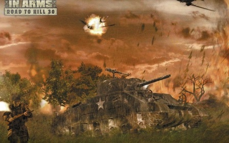 Постер к Русификатор Brothers in Arms: Road to Hill 30