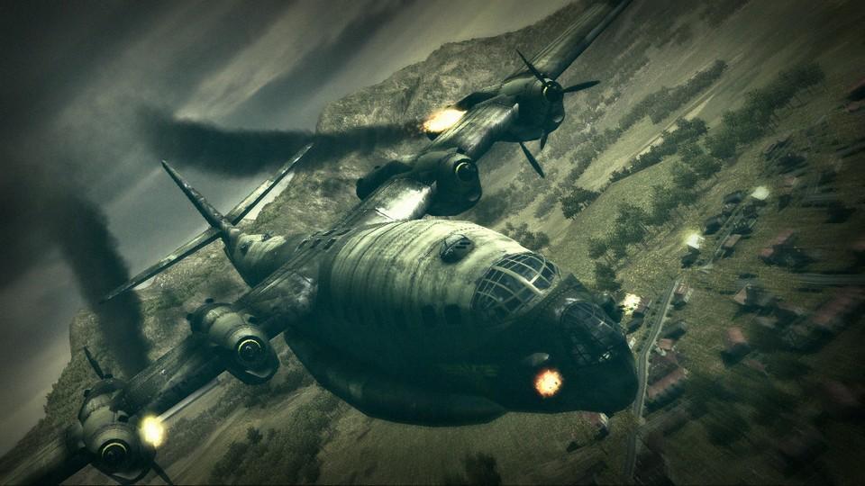 Постер к Русификатор Blazing Angels 2: Secret Missions of WWII