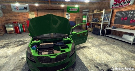 Постер к Русификатор Car Mechanic Simulator 2014