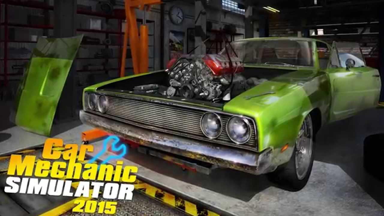 Постер к Русификатор Car Mechanic Simulator 2015