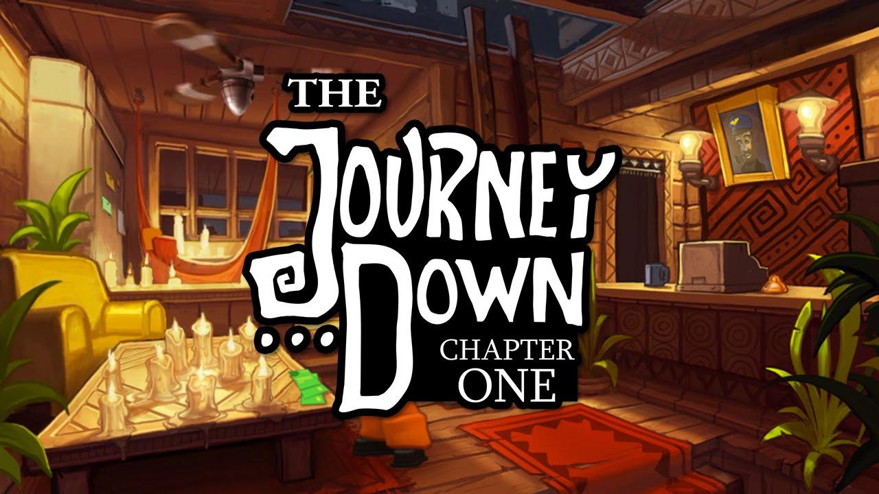 Постер к Русификатор The Journey Down: Chapter One (текст)