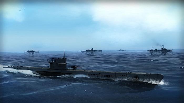 Постер к Русификатор Silent Hunter 5: Battle of the Atlantic (текста+звук+видео)