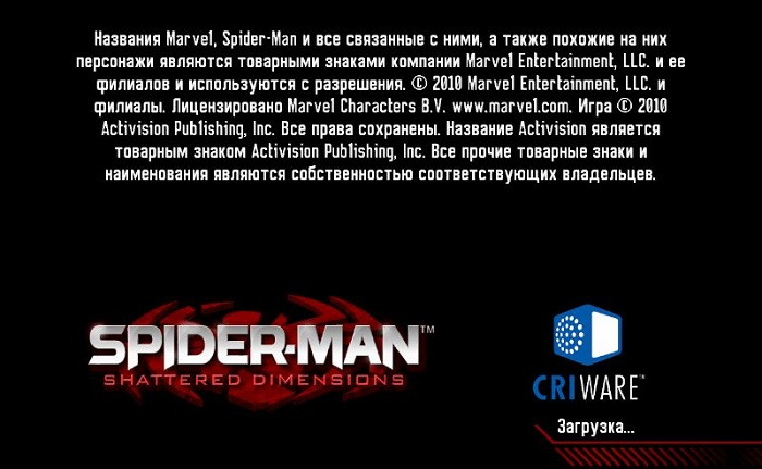 Постер к Русификатор Spider-Man: Shattered Dimensions (текст)