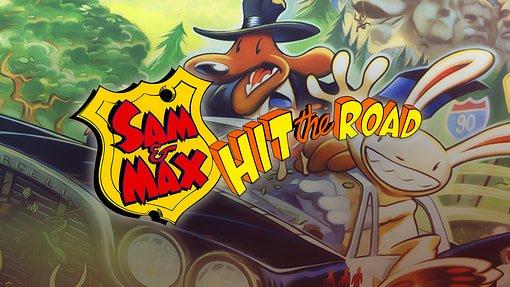 Постер к Русификатор Sam & Max Hit the Road (текст, звук)