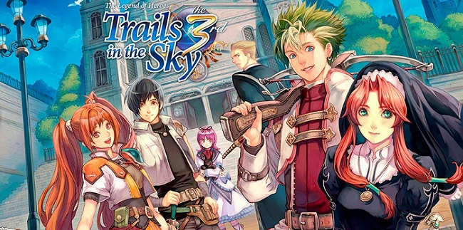 Постер к Русификатор The Legend of Heroes: Trails in the Sky the 3rd (текст, звук)