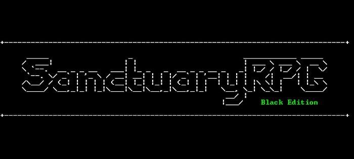 Постер к Русификатор SanctuaryRPG: Black Edition (текст)
