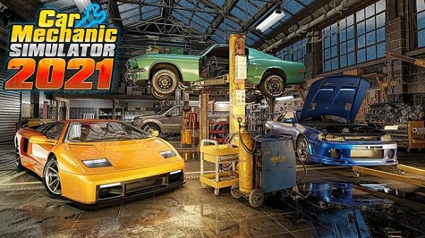 Постер к Русификатор Car Mechanic Simulator 2021 (текст)